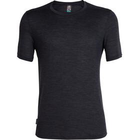 Icebreaker Sphere SS Crewe Shirt Men black heather